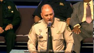 Lt. Clay Higgins full commencement speech at the Capital Area Regional Training Academy