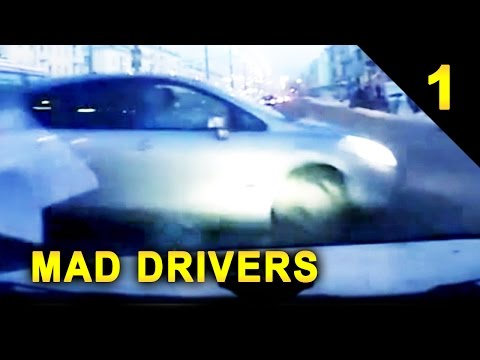 MAD DRIVERS Worldwide #1: 17 Videos of Car Crashes and Close Calls (HD Compilation)