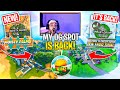 Greasy Grove Is BACK! *NEW* Moisty Palms Prop Hunt Location! (Fortnite Battle Royale)