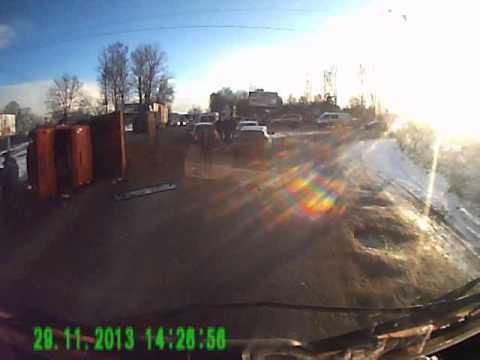авария на Колтушском шоссе 29.11.2013