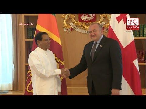 president meets geor|eng