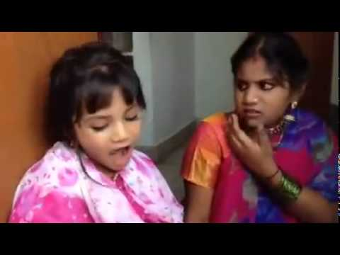 Sireesha What Curry   Atha Kodalu Cute Kids Telugu Very Funny Drama Photo Image Pic