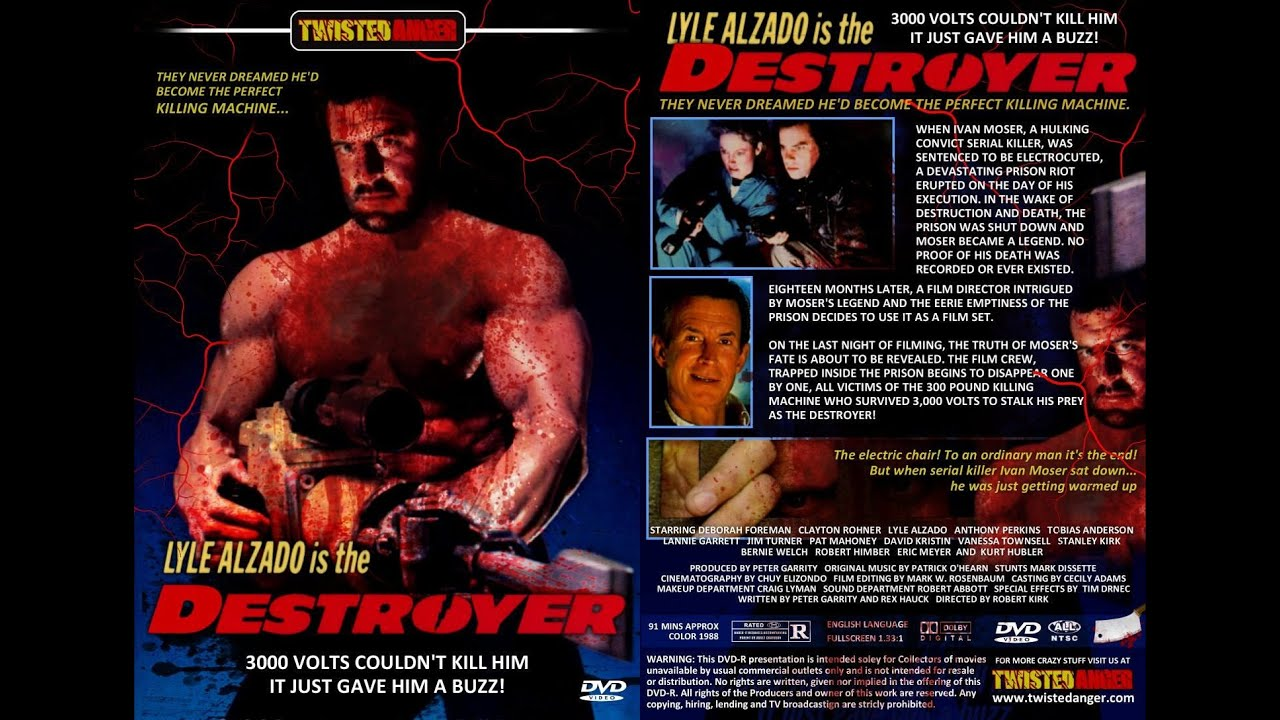 Destroyer 1988 Dvd Destroyer(1988 Movie Review