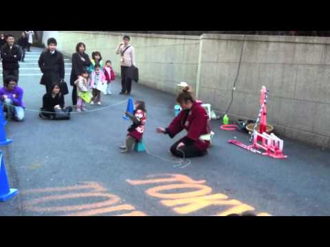 Monkey show at Tokyo Tower in Japan_Japan tour 01