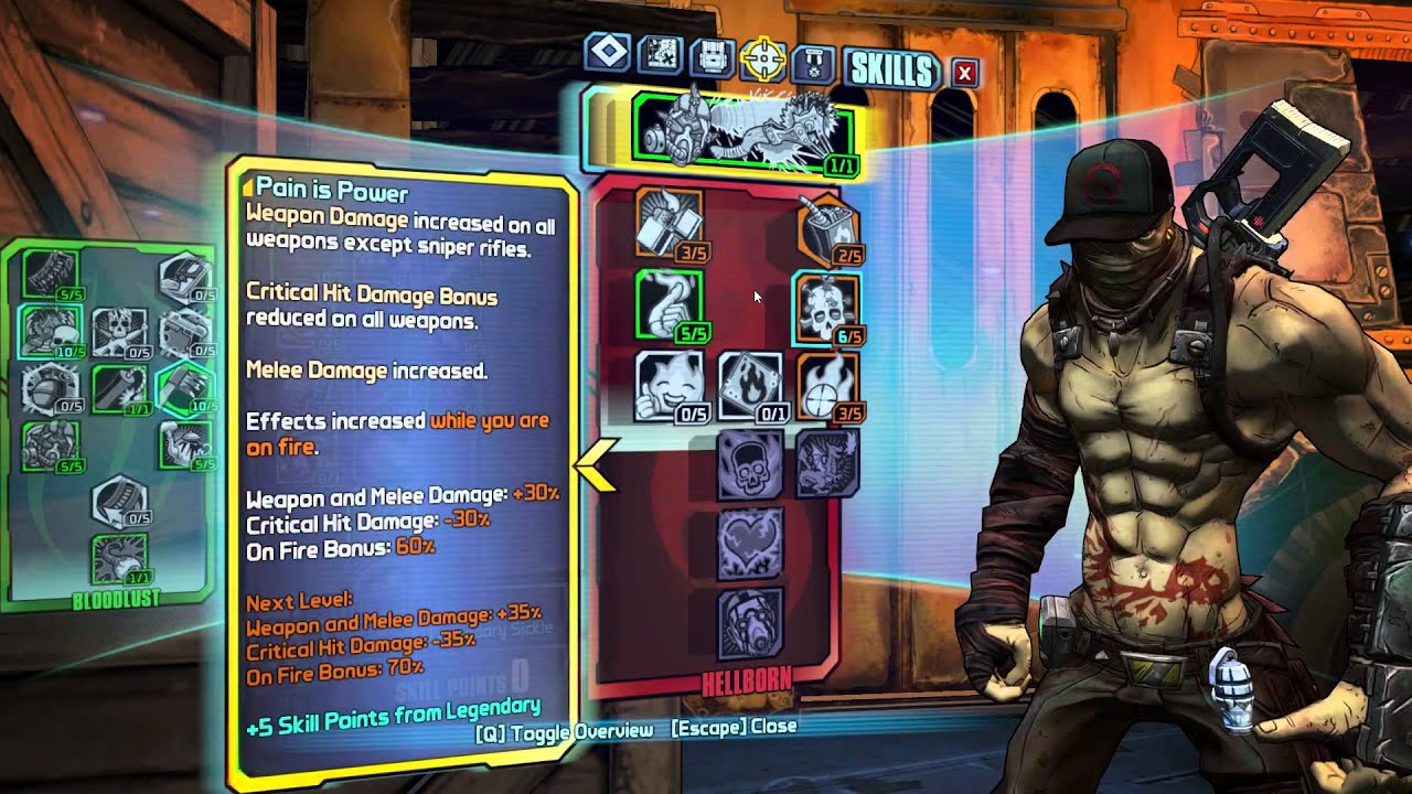 Borderlands 2 OP8 Psycho Build: Blitz Krieg Axeplosions ... Borderlands 2 Psycho Build