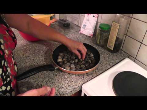 Как приготовить улиток - видео