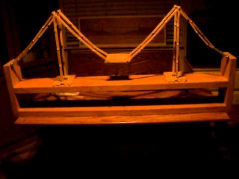 The Unbreakable Popsicle Stick Bridge - ModernVDO.com