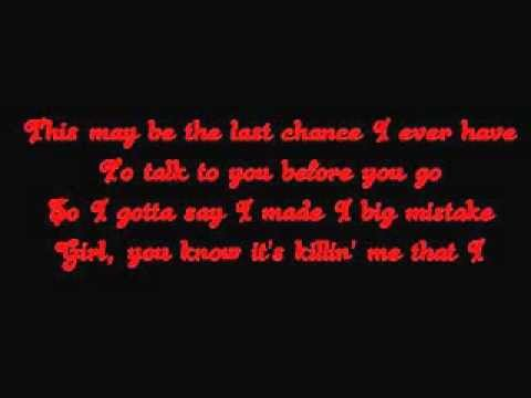 Shoulda, Woulda, Coulda Lyrics - Brian McKnight