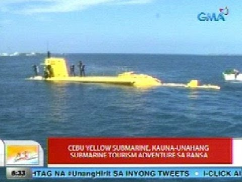 UB: Cebu Yellow Submarine, kauna-unahang submarine tourism adventure sa bansa