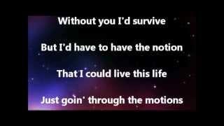 Keith Urban Video - Keith Urban Without You Lyrics Video