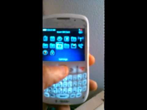 How to hard reset Blackberry curve 8520 to factory defaults ( Wipe )