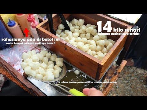 HEBAT LARIS BANGET !! RAME BANGET YG BELI GINIAN | INDONESIA STREET FOOD #411