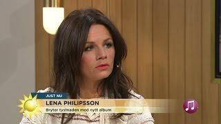 Lena Philipsson om nya skivan, karriären och skvaller - Nyhetsmorgon (TV4)