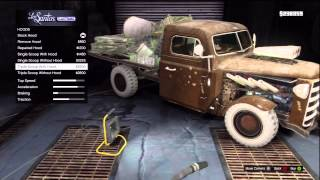 GTA V Car Customization Off Road Truck 'Rat-Loader Muscle' (HotRod)