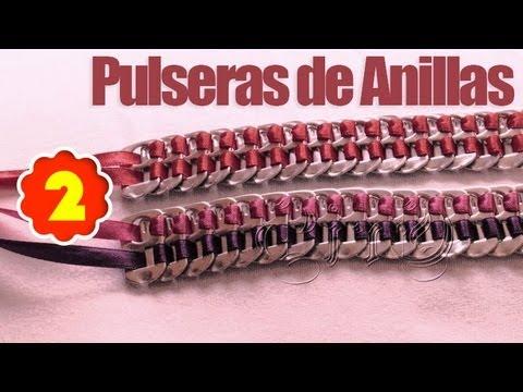PULSERAS DE ANILLAS 2 ~ MariquisTuts ★