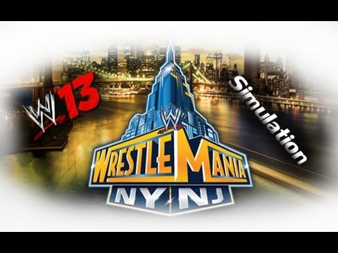 WWE Wrestlemania 29 WWE 13 Simulation