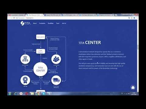 TITA Project - первая в мире платформа обмена на сырье на основе блокчейн