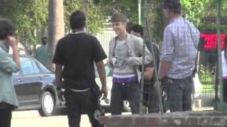 Justin Bieber Street Fighting
