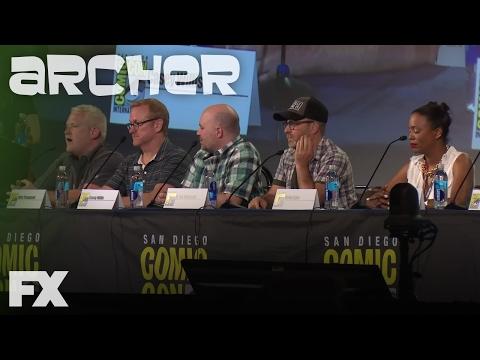 Archer   S&P Woes: Comic-Con 2016   FX