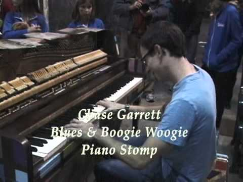 Chase Garrett Blues & Boogie Woogie Piano Stomp.mpg video