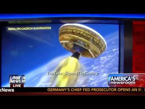 U.F.O. : NASA testing a Flying Saucer next week for a future Mission to Mars (Jun 05, 2014)
