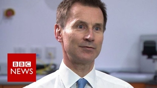Jeremy Hunt: NHS problems unacceptable - BBC News