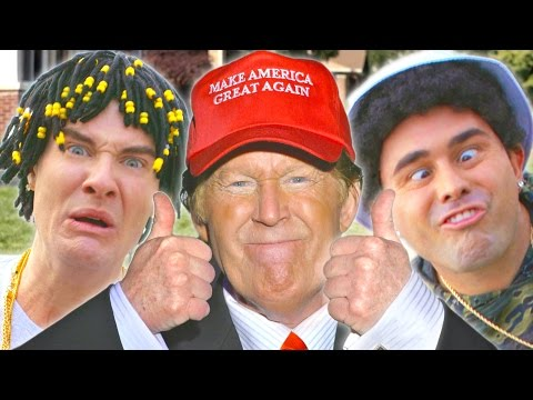 "Zay Hilfigerrr & Zayion McCall – ""Juju On That Beat"" PARODY ft. DONALD TRUMP"