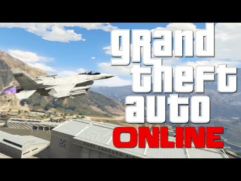 LA HUIDA CON EL CAZA - GTA Online con Willy y Vegetta