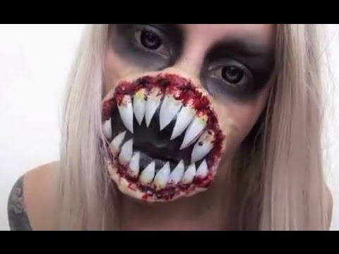 Alien Halloween Makeup Tutorial | Xenomorph Inspired