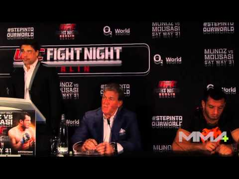 UFC Berlin Pre-Fight Press Conference Image 1