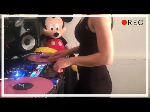 DJ Lady Style - Mask Off Scratch session
