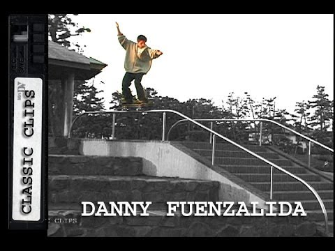 Danny Fuenzalida Skateboarding Classic Clips #129