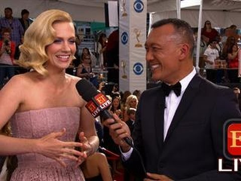 The 65th Emmy Awards Red Carpet: January Jones