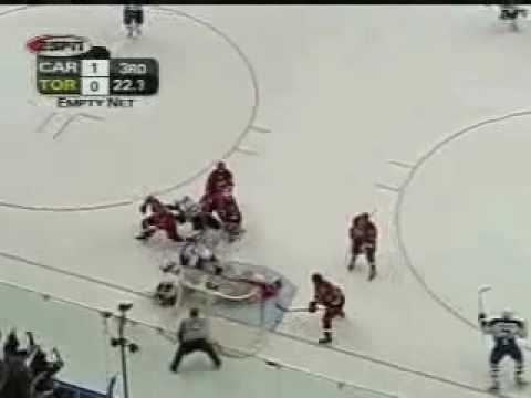 Memorable Mats Sundin Playoff Goals - May 28th 2002 Video