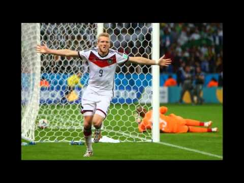 Germany beats Algeria in 2014 World Cup. German radio commentary.