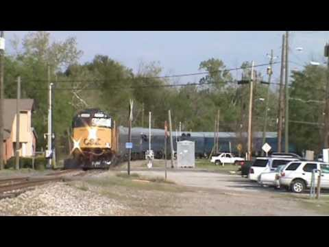 CSX OCS Arriving In Augusta Ga