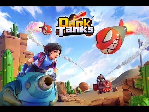 Dank Tanks android game first look gameplay español