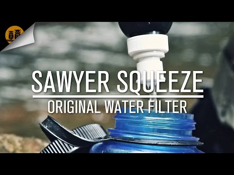 Sawyer Squeeze Original   Backpacking Water Filter   Field Review