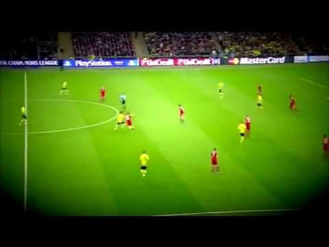 Ilkay Gündogan ♦ The best Midfielder ♦ Skills » Champions League Finale 2013 « HD
