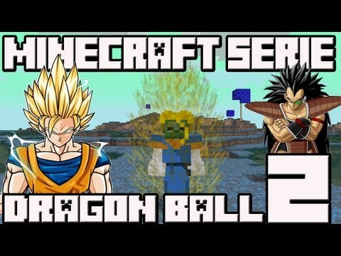 Minecraft 1.4.7 MINI-SERIE Mod Dragon Ball!! Cap.2