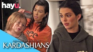 Nervous Kendall Wants Kourtney To Leave Her Home! | Season 16 | Keeping Up With The Kardashians