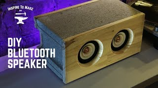 DIY Bluetooth Speaker