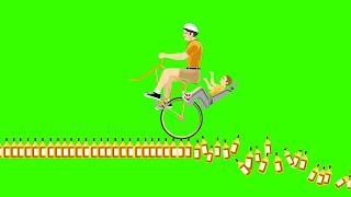 WORLD'S HARDEST BOTTLE RUN! (Happy Wheels)