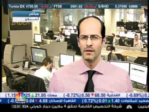Ashraf Laidi on CNBCArabia on Apple & US Banks & Indices- Mar 20, 2012 Chart