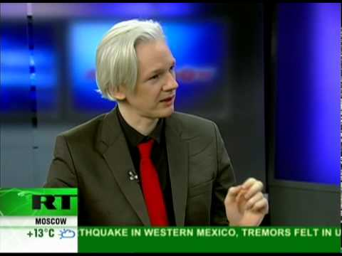 Wikileaks co-founder speaks to Alyona