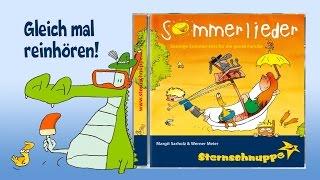 CD Sommerlieder - Kinderlieder Sternschnuppe - REINHÖREN