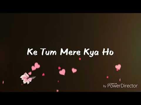 Tumhe Kya batao ki tum mere Kya ho Meri zindgi ka........ status Love Song