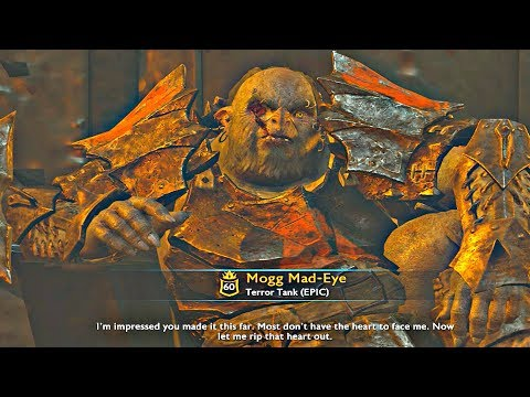 Shadow of War - MAX Level 1000 Ultimate Online Fortress Siege & Overlord Boss