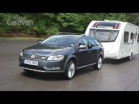 Practical Caravan   VW Passat Alltrack   Review 2012