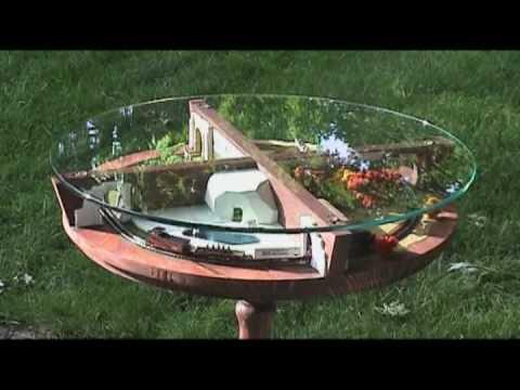 Zoo Table Z-scale Model Railway/Railroad Train Layout
